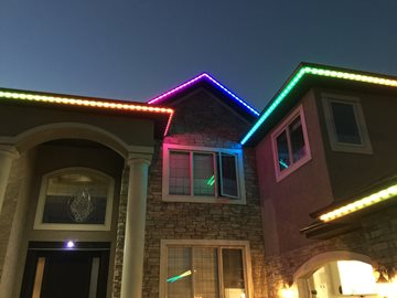 Using LED Strip Lighting For Decoration And Security On Their Roofs GTA Homeowners Can Light Up Their Lives ledstriplightsforroofsgta.com