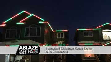 Safety First Installing Permanent LED Lighting in GTA for Christmas House Lights christmashouselightsgta