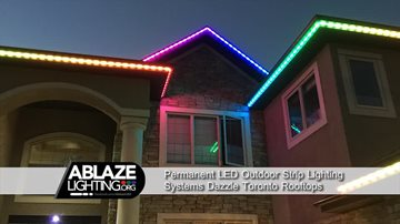 Celebrate with Permanent LED Outdoor Strip Lighting Systems in Toronto permanentledstriplightingsystemstoronto